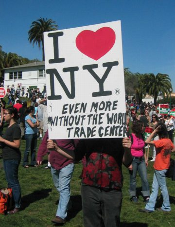 Liberal love of NY
