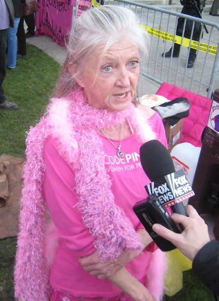 Old CodePINK Protester