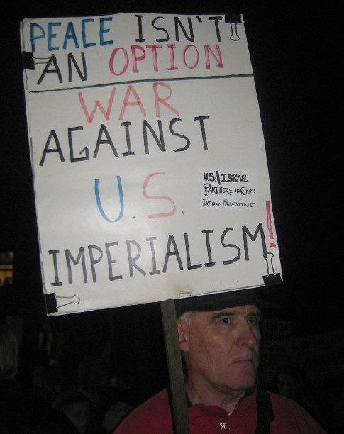 Berkeley Protest against the Marines