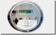 UK electric Meter