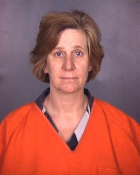 Cindy Sheehan's mugshot