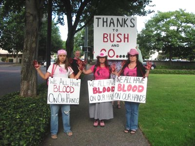 CodePINK with blood on their hands
