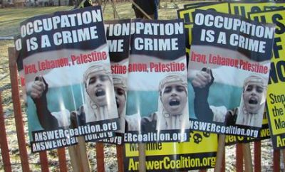 Occupation is a crime