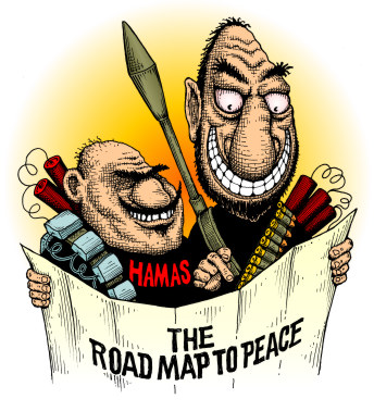 Palestinian terrorists use the Road Map to Peace to plan their next attack