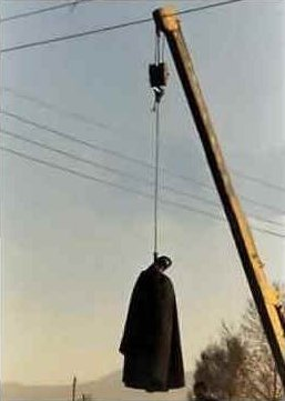 The Hanging of a rape victim in Iran