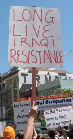 Iraqi Resistance Sign