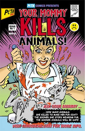 Mommy Kills Pamplet from PeTA