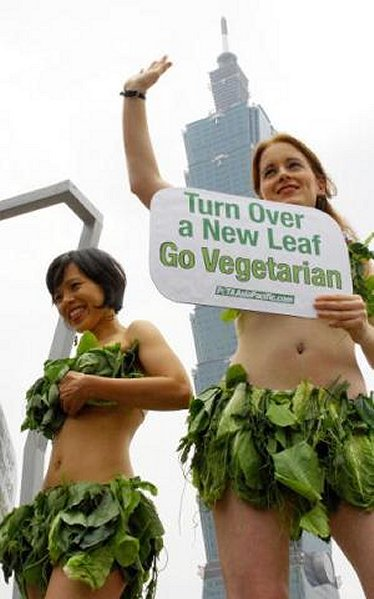 PeTA Lettuce Girls