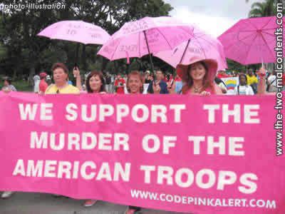 CodePINK protesters
