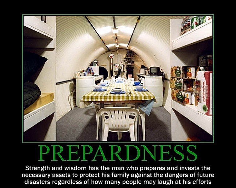 Preparedness Motivational Poster