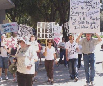 Anti-American Protesters