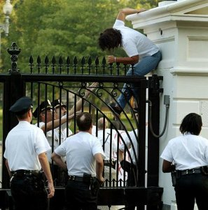 Scaling the Whitehouse Fence